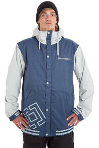 Horsefeathers Stadium Snowboard Jacke (light grey)