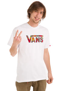 Vans Classic Tropical Camo Fill T-Shirt (white)