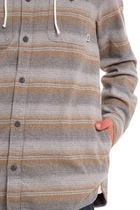 Vans Lopes Hemd mit Kapuze  (gravel stripe)