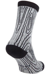 Nike SB Dri-Fit Wood Grain Socken Fit To Move US 3-13  (dark heather grey)