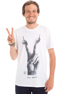 Volcom Mixed Message T-Shirt (white)