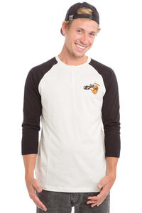 Volcom X Toy Machine 3/4 Longsleeve (white)