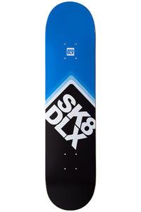 """SK8DLX Cube Logo II 7.5"""" Deck (black blue)"""