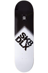 "SK8DLX Cube Logo II 8.5"" Deck (black white)"