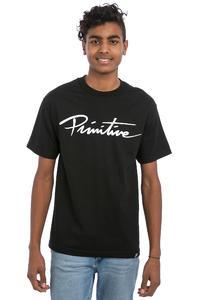 Primitive Nuevo Script T-Shirt (black)