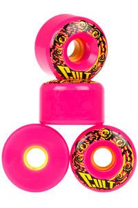 Cult Classic 70mm 80A Rollen (pink) 4er Pack