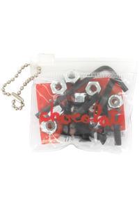 "Chocolate 7/8"" Bolt Pack (black) Flathead (countersunk) allen"