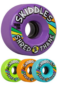 Sector 9 Skiddles 70mm 78A OS Rollen (mixed) 4er Pack