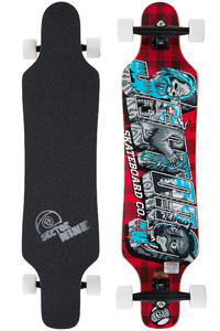 "Sector 9 Mini Shaka 40.5"" (102,9cm) Complete-Longboard 2014 (red)"