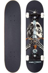 "Powell-Peralta Skull & Sword 7.875"" Komplettboard (grey)"