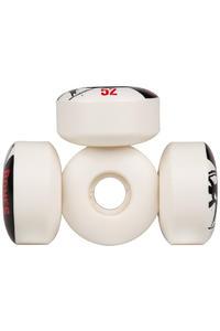 Bones STF-V3 Series 52mm Rollen 4er Pack  (white black)
