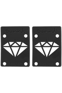 """Diamond 1/8"""" Basic Riser Pad (black) 2er Pack"""
