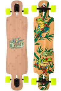 """Riviera La Rana 40"""" (101,6cm) Komplett-Longboard (natural)"""