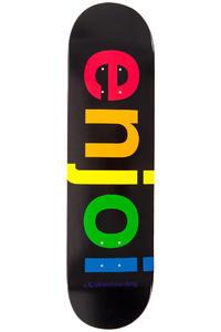 "Enjoi Spectrum 8.25"" Deck (black)"