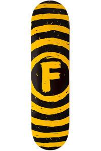 """Foundation Vertigo Sketch 7.75"""" Deck (black yellow)"""