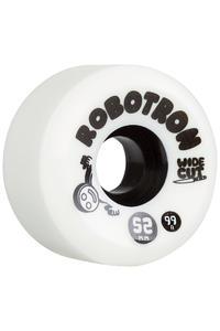 Robotron Wide Cut 52mm Rollen 4er Pack (white)