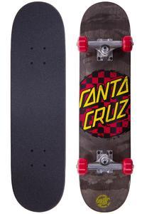 "Santa Cruz Check Dot Mini 7"" Komplettboard (black red)"