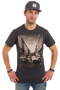 Iriedaily Greetings T-Shirt (anthracite melange)