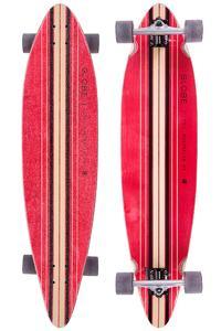 """Globe Pinner 41.25"""" (105cm) Komplett-Longboard (red black)"""
