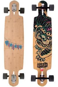 """Riviera Kung Fu Kitty 41.5"""" (105,4cm) Komplett-Longboard (natural)"""