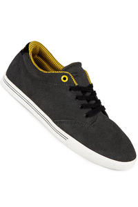 Globe Lighthouse Slim Suede Shoe (charcoal black yellow)