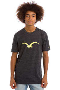 Cleptomanicx Möwe T-Shirt (heather black)