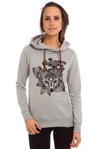 SK8DLX Fox Hoodie women (grey heather)