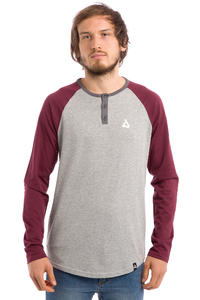 Anuell Stanley Longsleeve (heather grey burgundy)