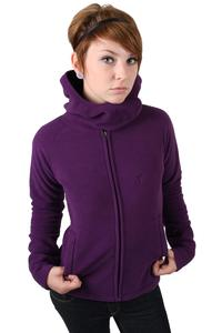 Mazine Gil Fleece Jacke women (deep purple)