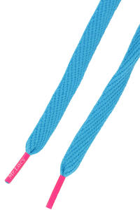 Mr. Lacy Flatties Laces (mellow blue neon pink)