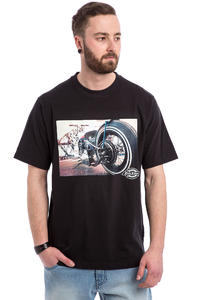 Dickies Hot Rod Wheel T-Shirt (black)