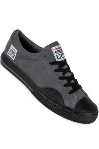 Vision Streetwear Suede Lo Schuh (charcoal black)