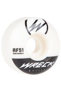 Wreck W1 51mm Rollen (white) 4er Pack