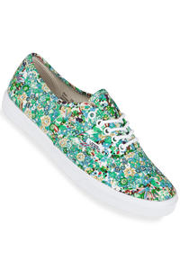 Vans Authentic Lo Pro Schuh women (ditsy floral pool green)