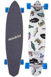 "Madrid Dude 38.75"" (98,4cm) Complete-Longboard (fish)"