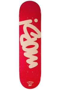 """MOB Skateboards Tag 7.625"""" Deck (red)"""