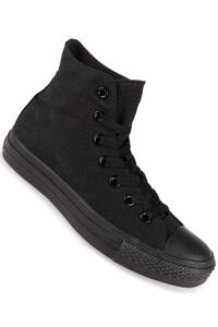 Converse Chuck Taylor High All Star Canvas Shoe (black monochrome)