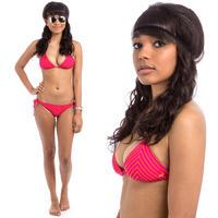 Roxy Tiki Tri Tie Side Bikini women (love struck berry)