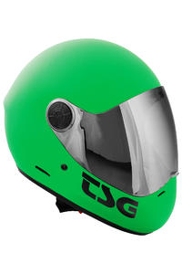 TSG Pass Solid Color Helm (green)