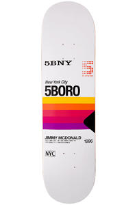 "5BORO McDonald VHS Pro Series 8"" Deck (white)"