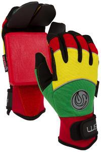 Lush Freeride Deluxe Slide Gloves (rasta)