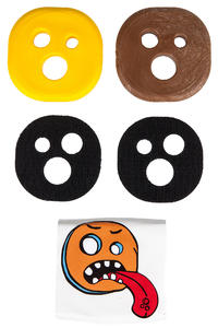 Holesom Tropic Slide Pucks (brown yellow)