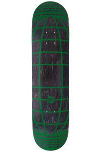 "SK8DLX Global Series 7.75"" Deck (black green)"