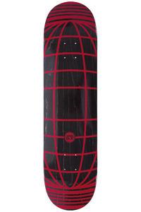 """SK8DLX Global Series 8"""" Deck (black red)"""