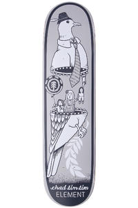 "Element Tim Tim Zipper 8.125"" Deck (grey)"