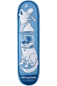 "Element Garcia Zipper 8.25"" Deck (blue)"