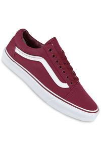 Vans Old Skool Canvas Shoe (cordovan true white)