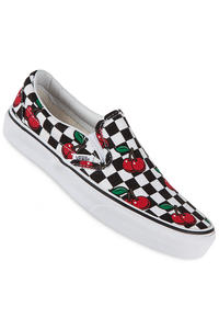 Vans Classic Slip-On Schuh women (cherry checkers black true white)