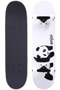 "Enjoi Whitey Panda Mid 7.375"" Complete-Board (white)"