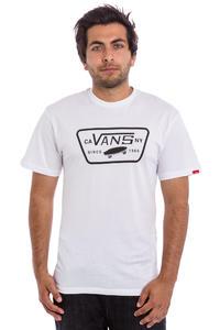 Vans Full Patch T-Shirt (white black)